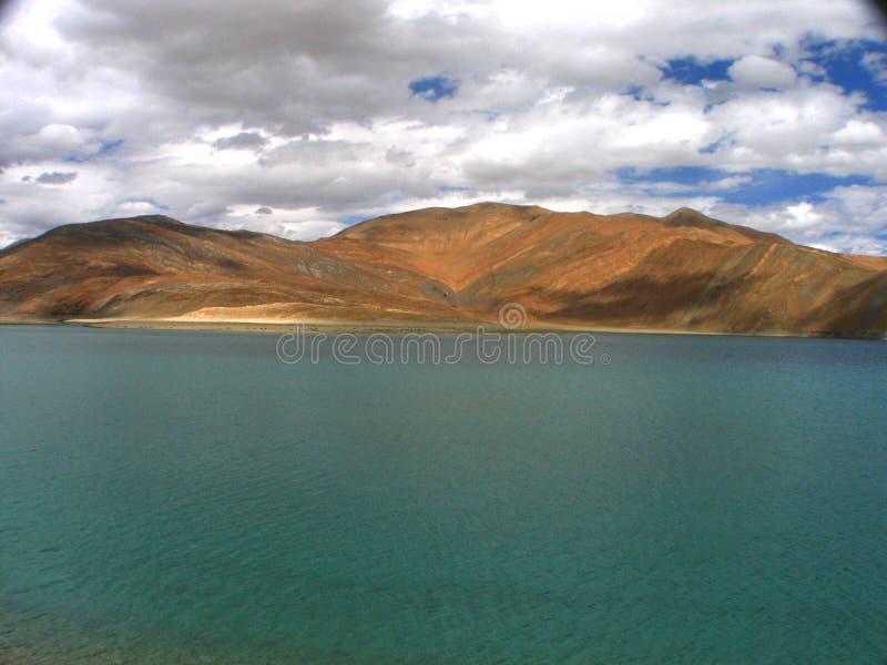 pangong озера стоковые изображения