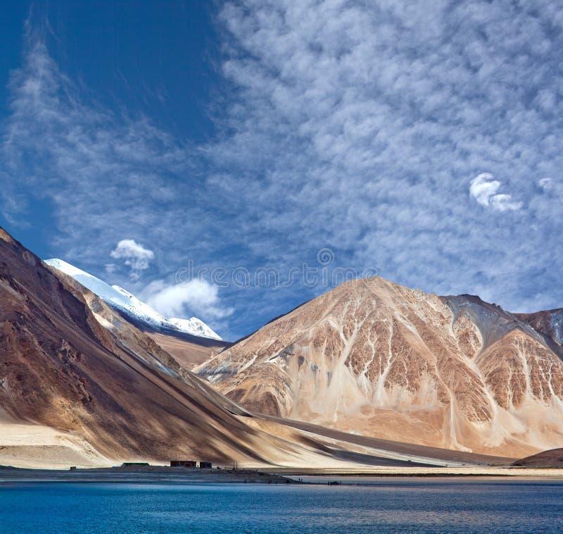 Pangongtso Meer in Ladakh, India stock fotografie