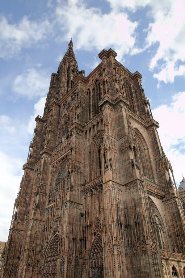 pani katedralna nasze Strasbourg france zdjęcia stock