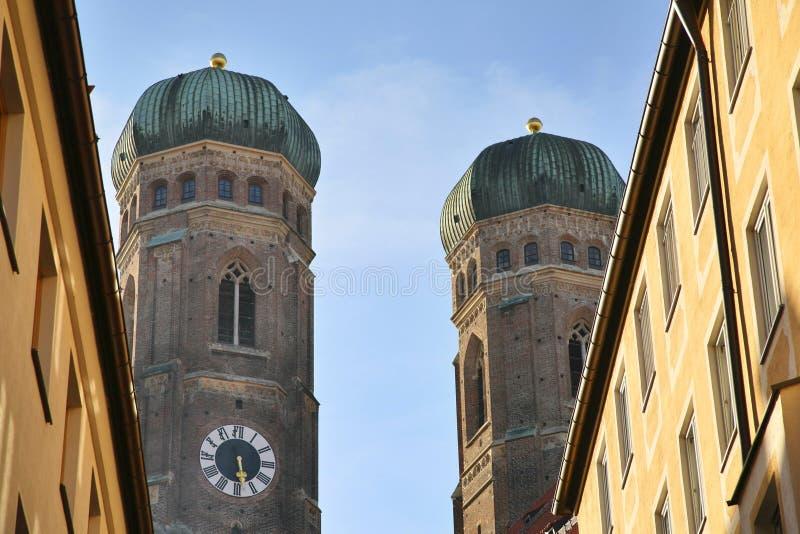 pani katedralna naszych Monachium obrazy royalty free