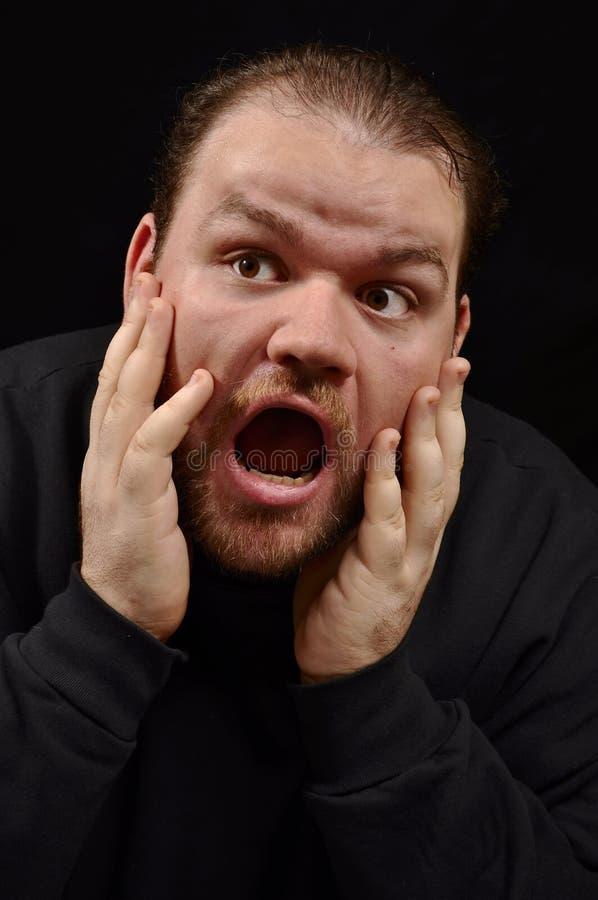 Panic Attack. Stock Photo