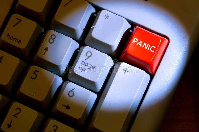 Download Panic Button stock image. Image of danger, office, assistance - 5220785