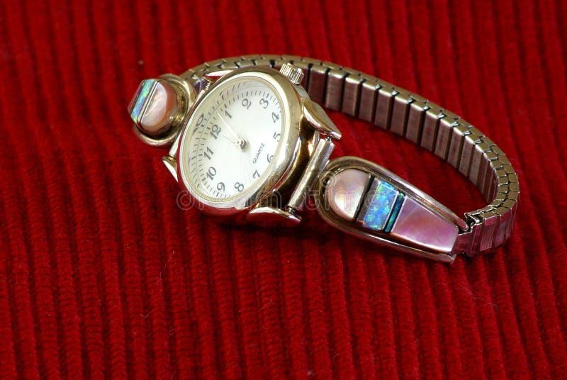 panie s zegarek fotografia stock