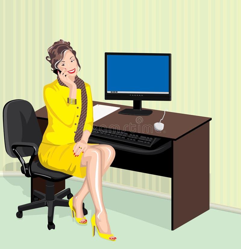 panie urzędu royalty ilustracja
