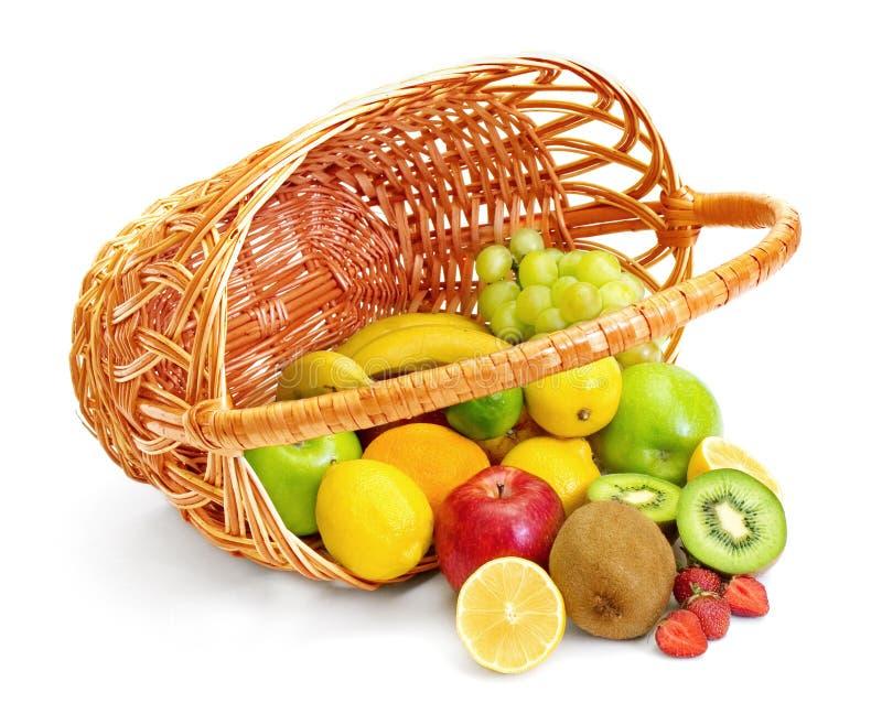 panier image stock image du dieting banane citron manger 6934777. Black Bedroom Furniture Sets. Home Design Ideas