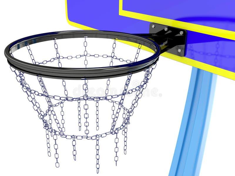 Panier de basket-ball illustration libre de droits