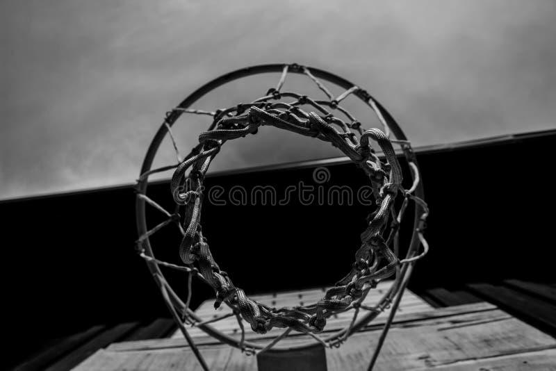 Panier de basket-ball photos libres de droits