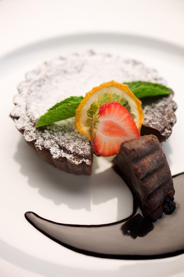Panier de chocolat photos libres de droits