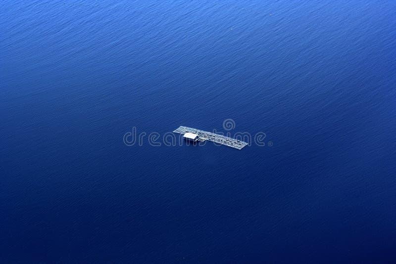 Panier de flottement indonésien photos stock
