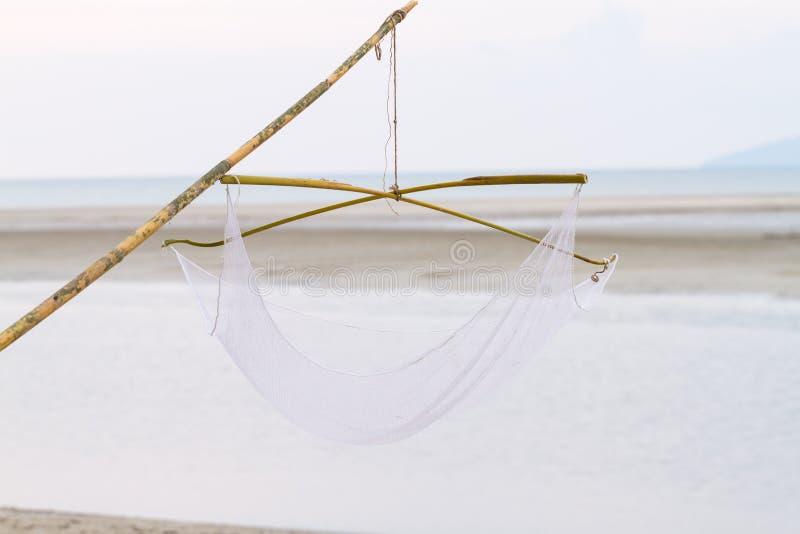 Panier de flottement pour la pêche photographie stock libre de droits