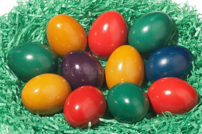 Panier de Pâques photos libres de droits