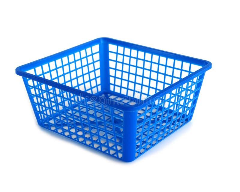 Panier en plastique image stock