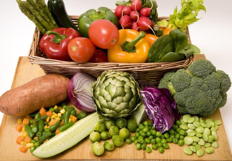 Panier végétal image libre de droits