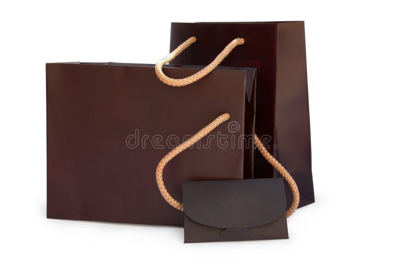 Panieres con cartulina imagen de archivo