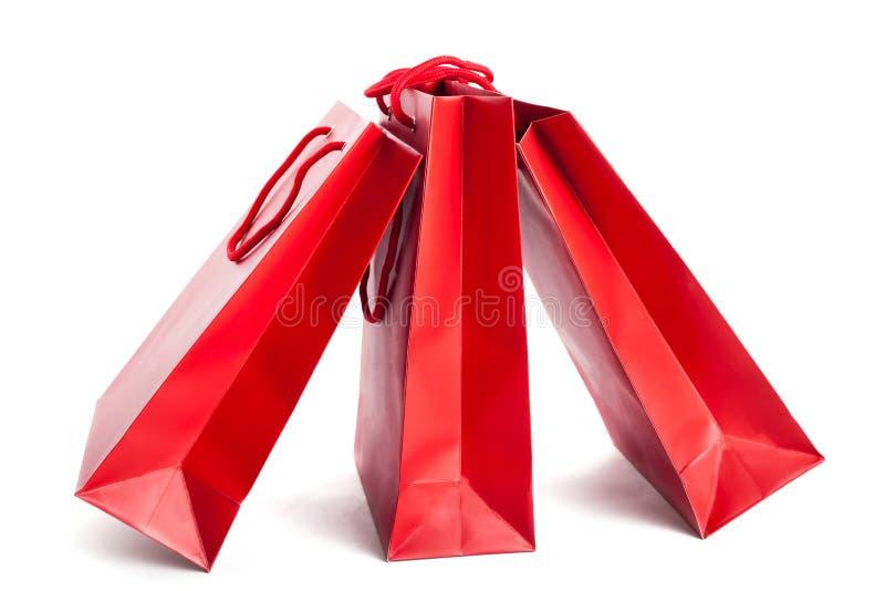 Download Paniers de papier rouges photo stock. Image du traitement - 56477692