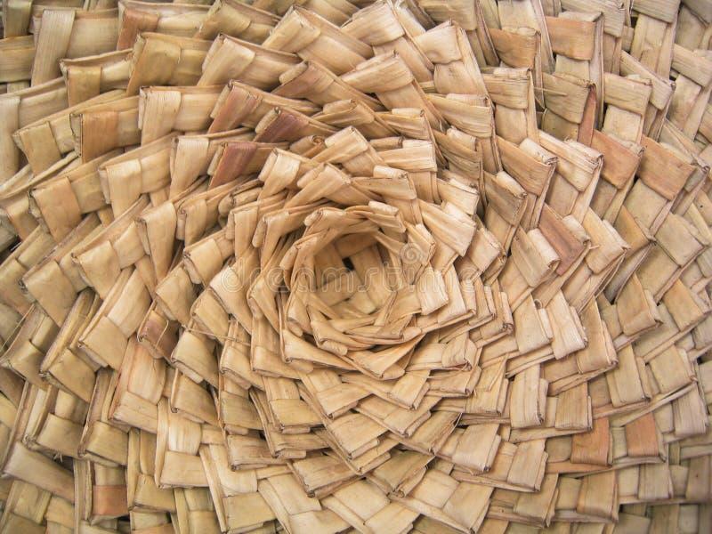 Paniers tissés fabriqués à la main photos libres de droits