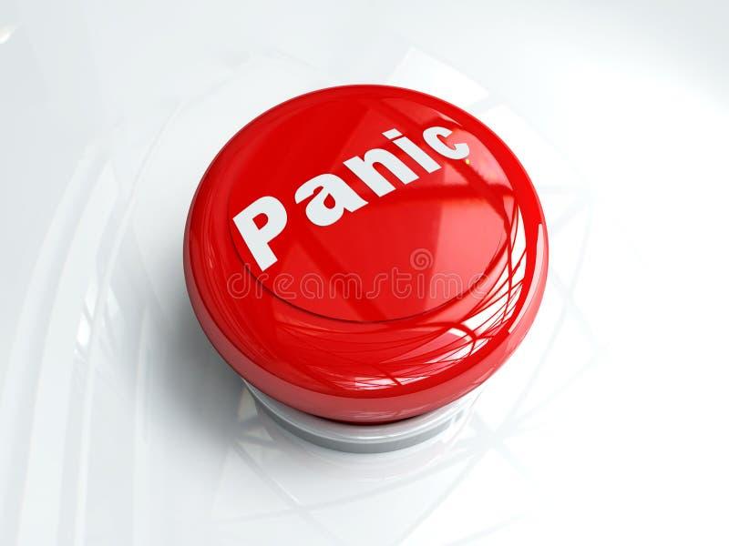 Panik-Taste lizenzfreie abbildung