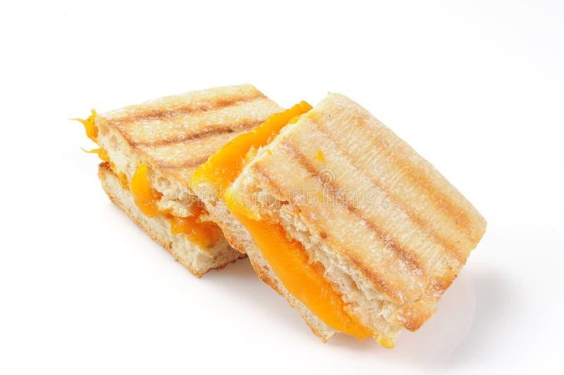 Panini asado a la parilla del queso foto de archivo libre de regalías