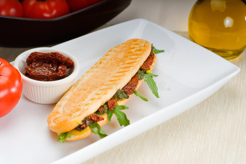 Download Panini Sandwich Stock Photo - Image: 16162550