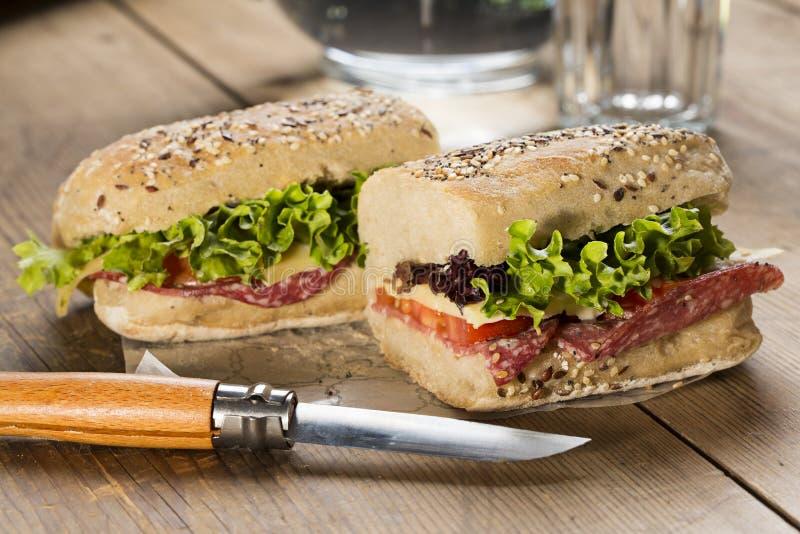 Panini Sandwich stockbild