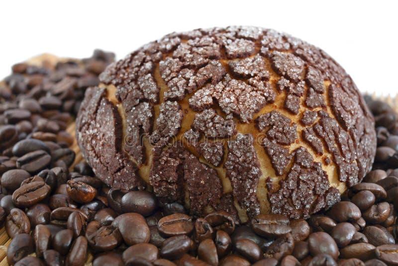 Panino del caffè fotografie stock libere da diritti