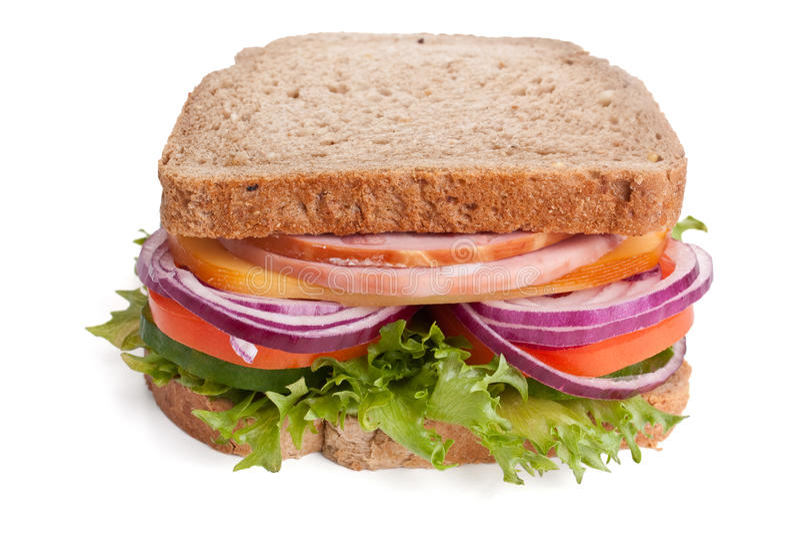 Panino del pane integrale immagine stock libera da diritti