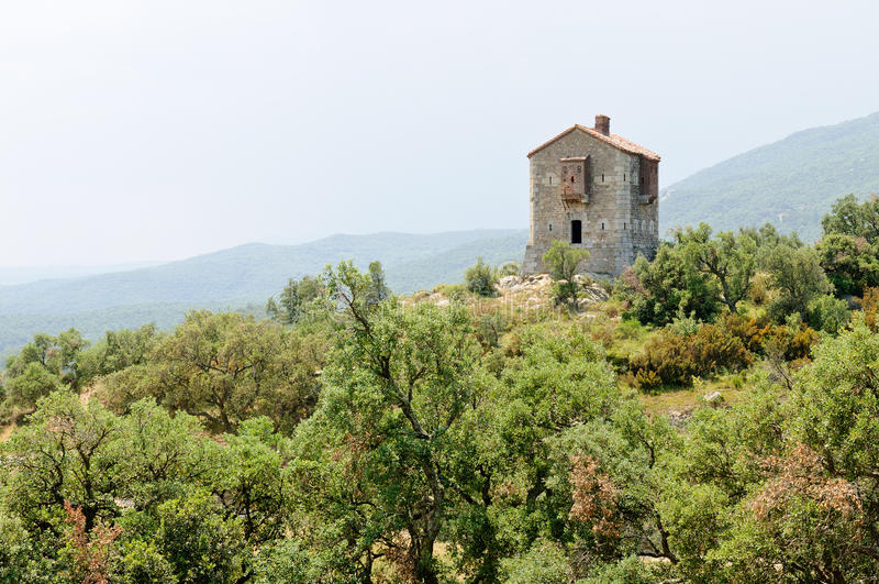 Download The Panissars Blockhouse, Le Perthus, France Stock Image - Image: 23075067