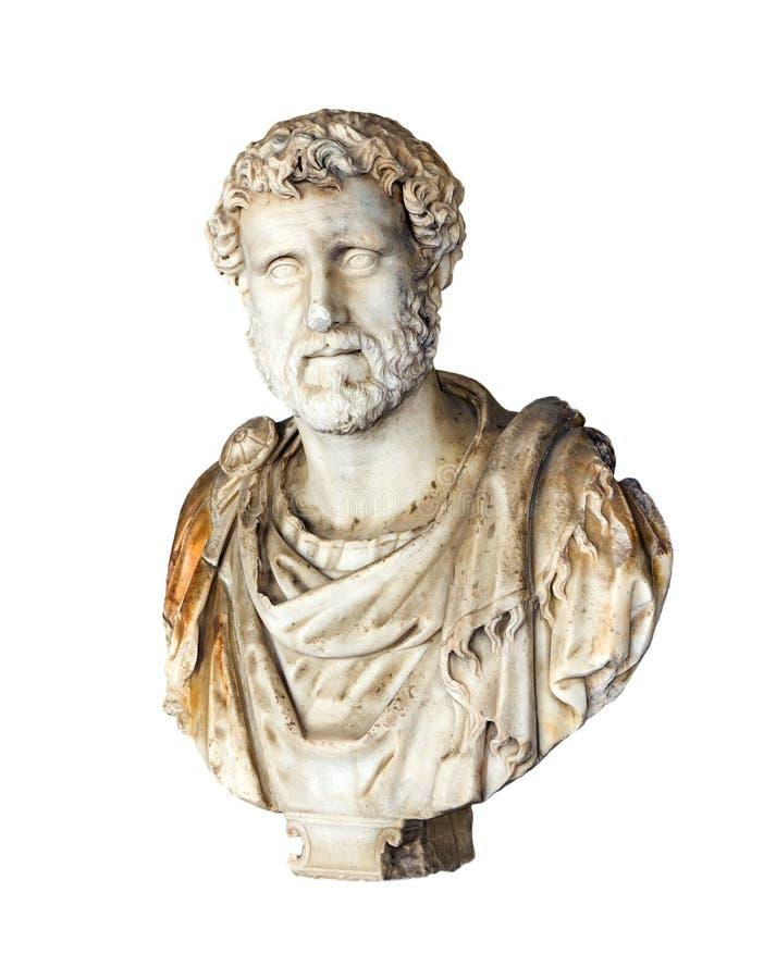 pank roman kejsarepius för antoninus royaltyfria foton