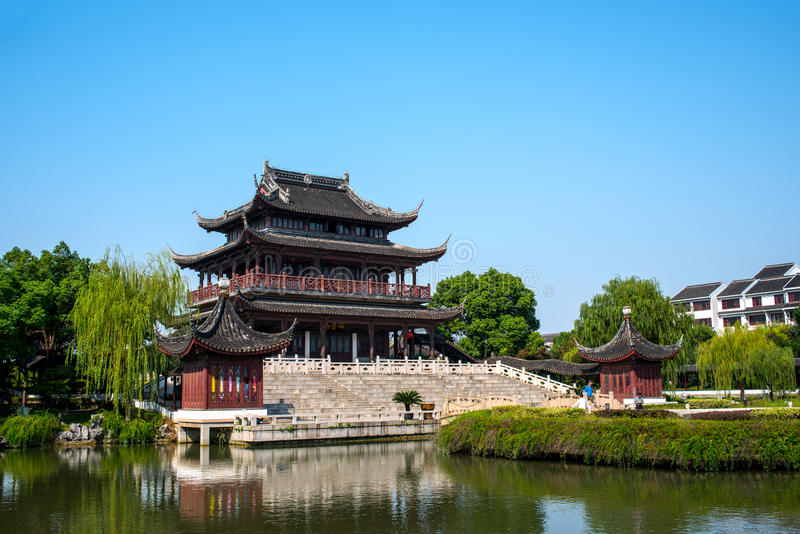 Panmenpark royalty-vrije stock afbeelding