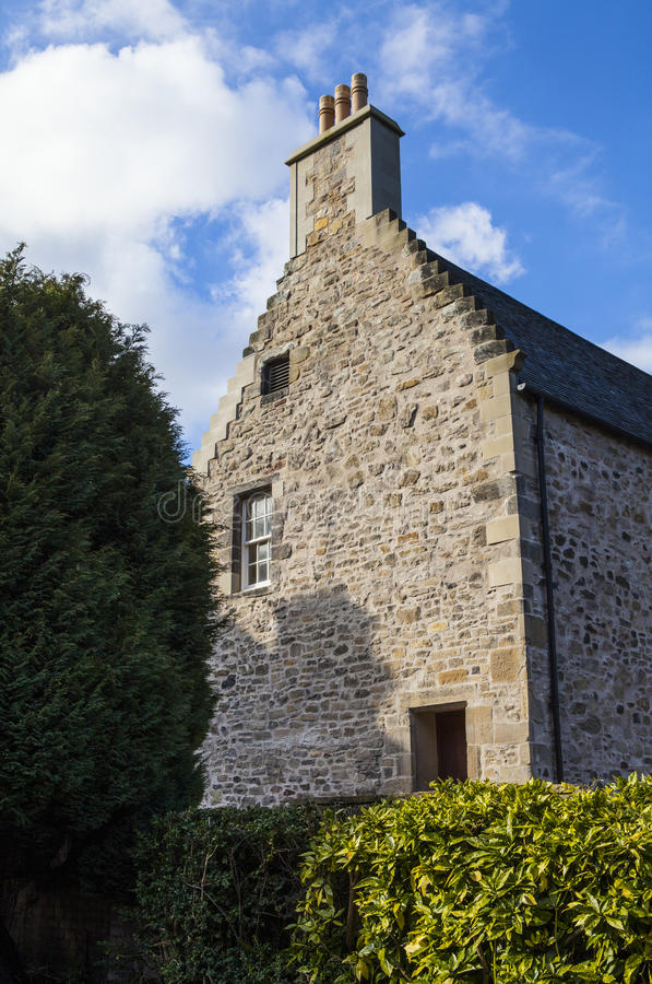 Panmure hus i Edinburg arkivfoto