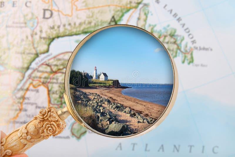 Panmure prins Edward Island royaltyfri bild