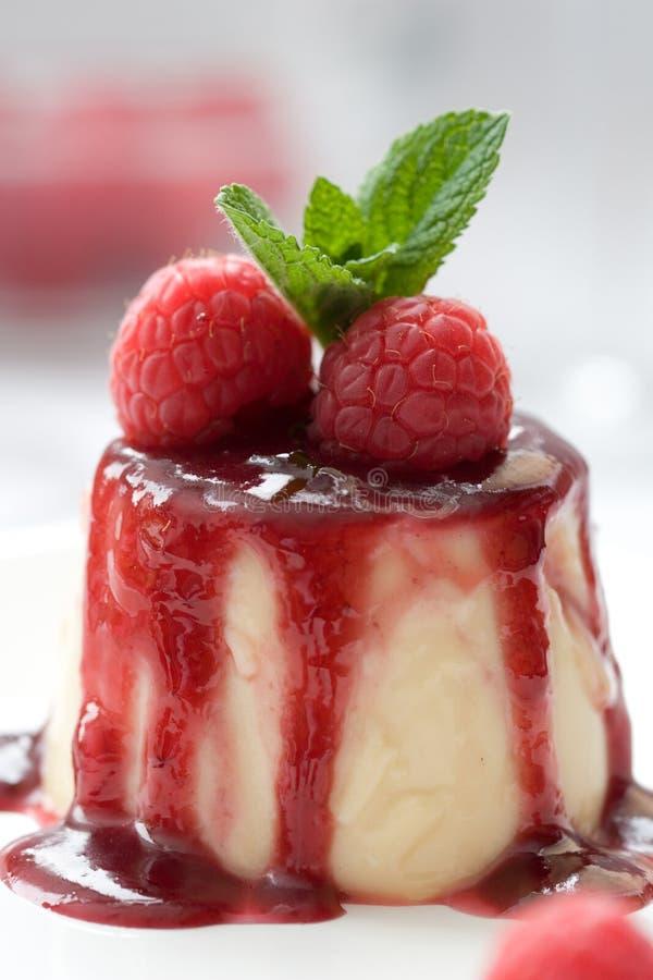 panna десерта cotta вкусное стоковая фотография rf