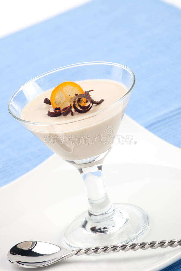 Download Panna Cotta Dessert stock photo. Image of flavor, fresh - 19801936