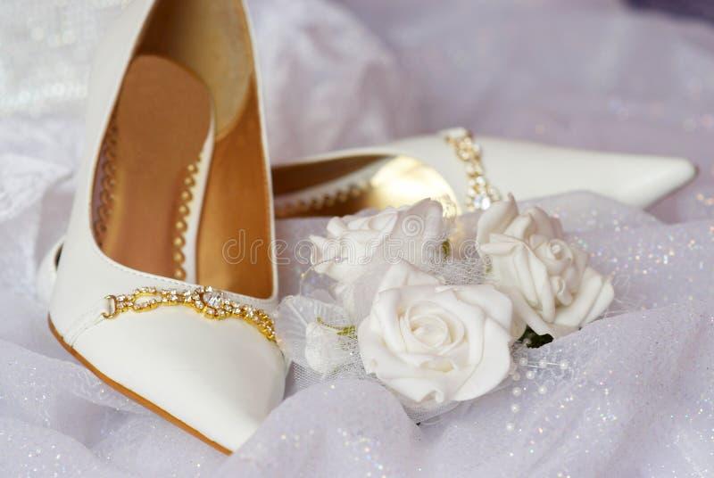 panna młoda buty s fotografia stock