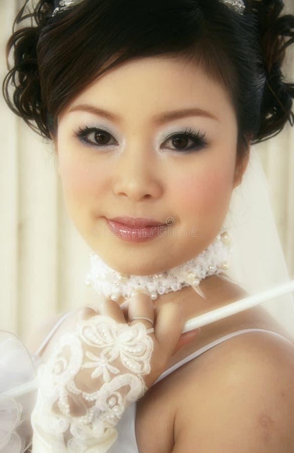 panna młoda chińczycy fotografia royalty free