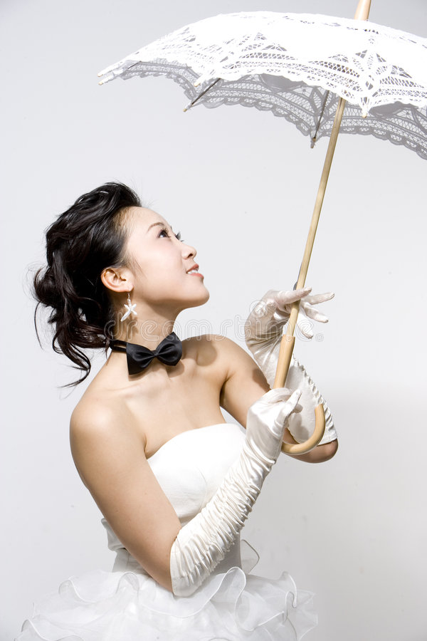 panna młoda chińczycy obraz royalty free