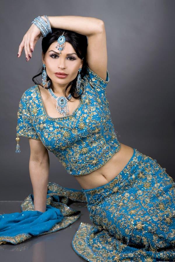 panna młoda hindus obraz royalty free