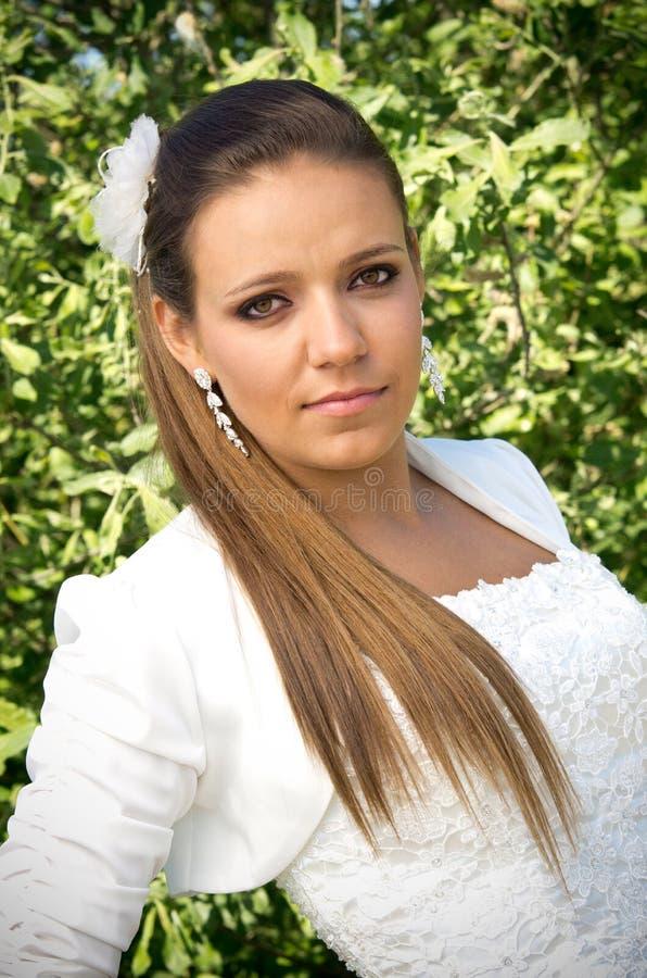 panna młoda piękny portret zdjęcie stock