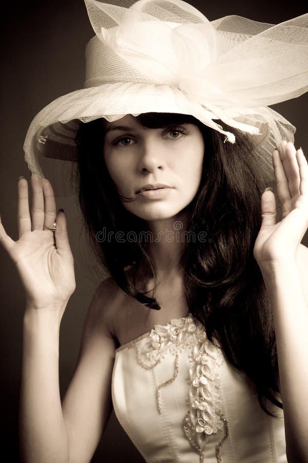 panna młoda portret fotografia royalty free