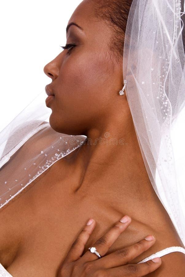 panna młoda profil. zdjęcia royalty free