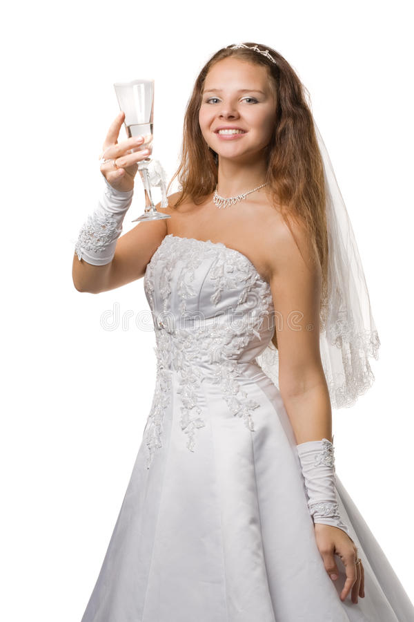 panna młoda romantyczna zdjęcie stock