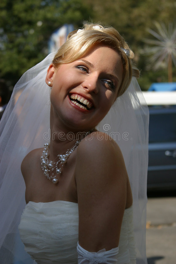 panna młoda szczęśliwa zdjęcia stock