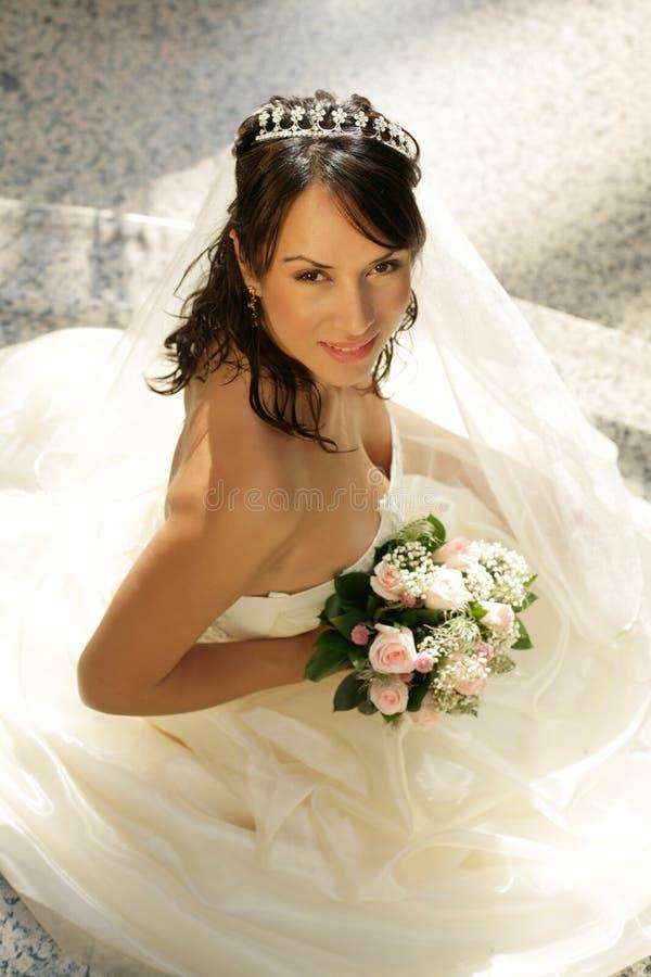 Download Panna młoda obraz stock. Obraz złożonej z kwiaty, zamężny - 4497379