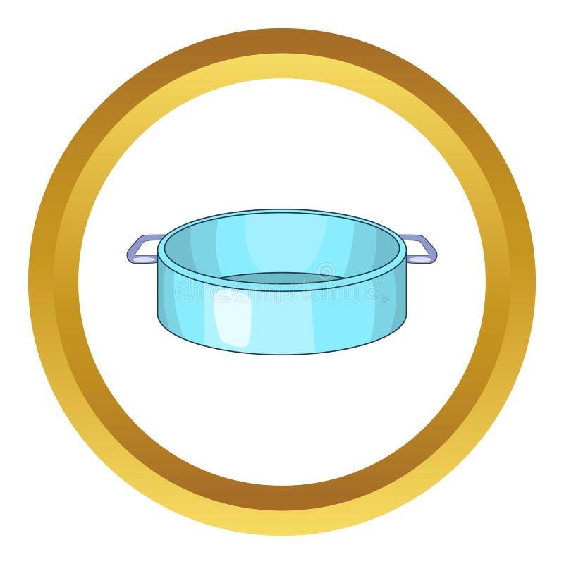 Pannavektorsymbol royaltyfri illustrationer