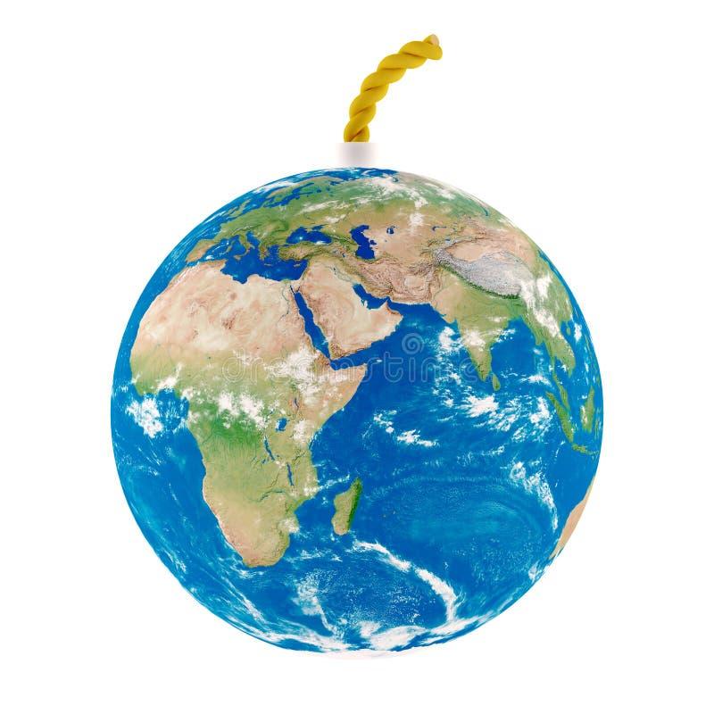 Panne de la terre illustration libre de droits