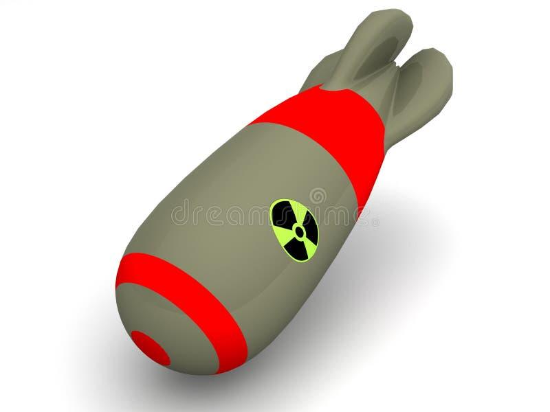 Panne nucléaire illustration stock