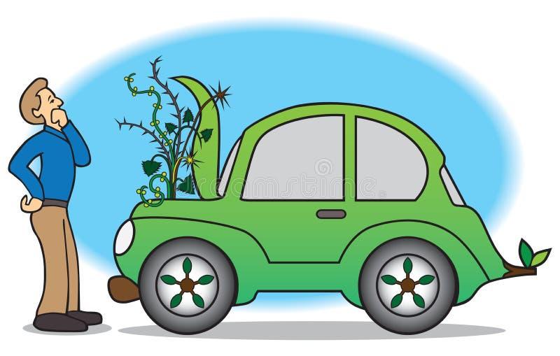 panne verte de voiture illustration de vecteur illustration du verdure 50829000. Black Bedroom Furniture Sets. Home Design Ideas