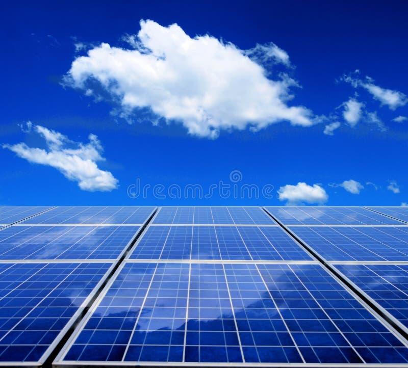 Panneau à énergie solaire images libres de droits