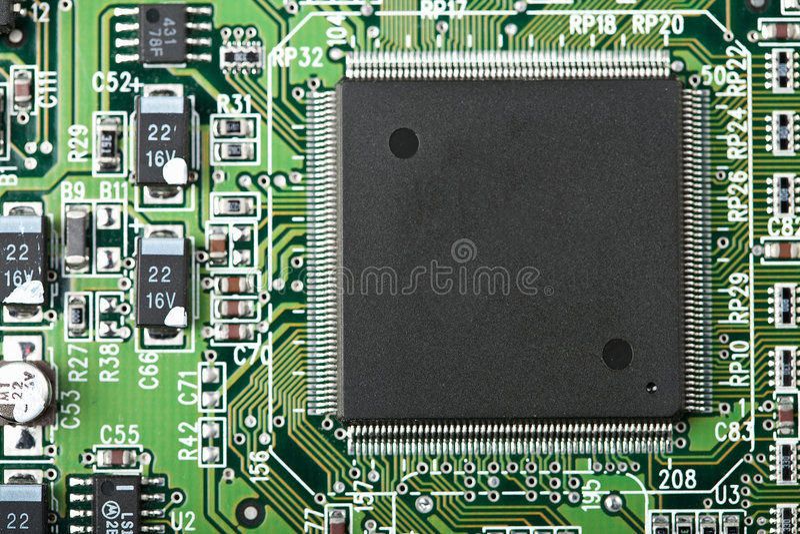 Download Panneau électronique photo stock. Image du future, bleu - 8659550