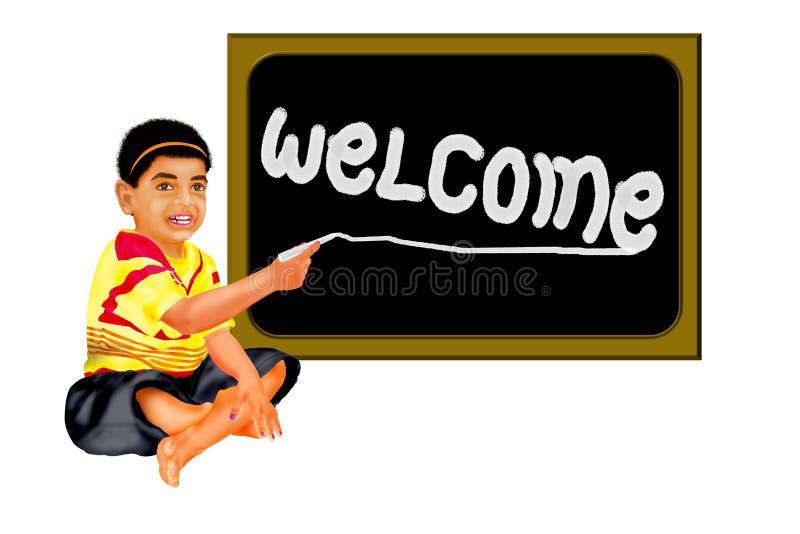 Panneau bienvenu